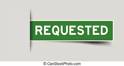 Requested Clipart