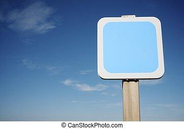 square sign