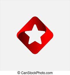 Square Star Logo