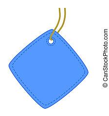 Square tag.