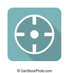 Square target icon