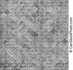 Monochrome square texture - the surface of the old roof