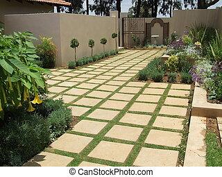 Garden and landscaping idea