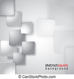square vector - silver and white squares background. vector...