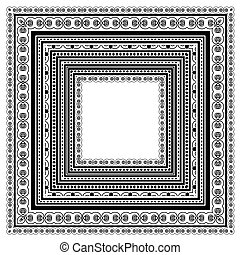 Square Vintage Frame
