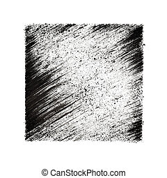 Square with oblique strokes