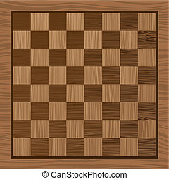 wooden chess board - square wooden chess board with grain...
