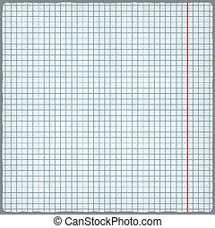 squared paper. blank design sheet