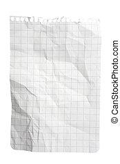 Squared Paper Notepad Sheet - Single sheet of squared ...