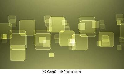 squares., chevaucher, jaune