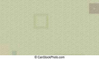 Squares infinite zoom abstract video background