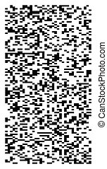 squares pixelated, block pixels random mosaic pattern /...