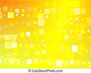 squares - shimmering golden abstract square shape background...