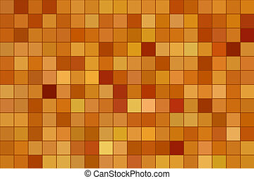Squares symmetrical pattern. Abstract computer generated illustration.