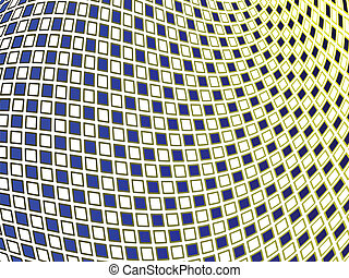 squares wavy background