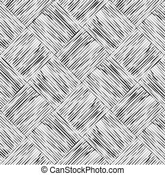squares with black lines on white background