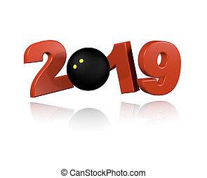 Squash ball 2019 Design