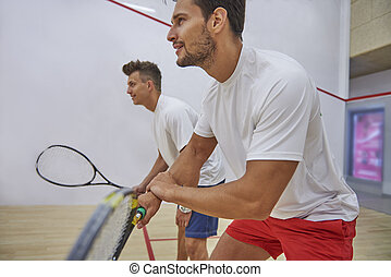 Squash can become a great passion