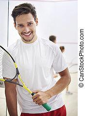 Squash is my big hobby