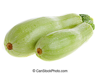 squash, marrow - Photo squash on a white background