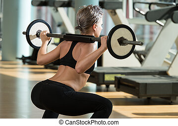 squat, barbell