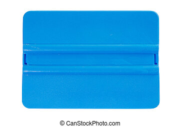 Squeegee isolated on a white background