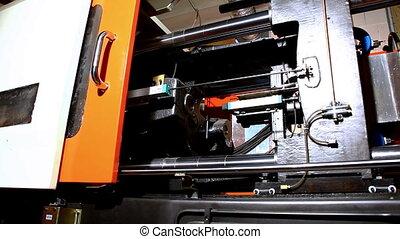 squeeze molding machine prepare hot polyethylene of high...