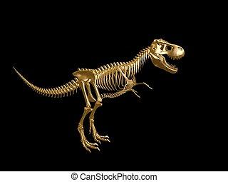 squelette dinosaure