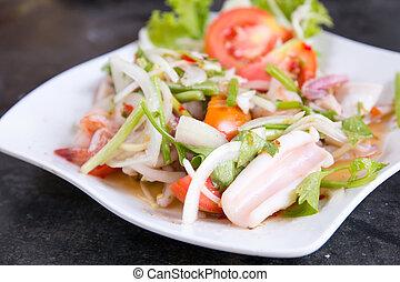 Squid Spicy Salad