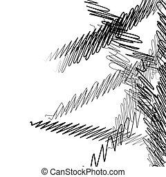 squiggle, linee, zebrato, /, ondulato, squiggly