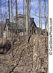 Squire\'s Castle - historic landmark of Ohio