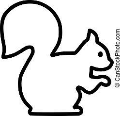 Squirrel contour