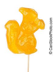 Squirrel shape lollipop