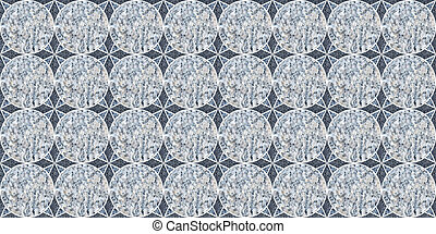 squre Pattern. Stylish Repeating Texture. Braiding Background of Intersecting Stripes Lattice. Black and White Geometric