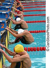 Srart 2 - Srart of backstroke