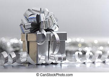 srebro, dar, boże narodzenie