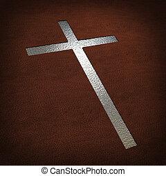 srebro, krzyż
