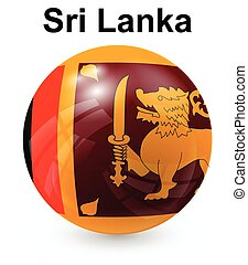 sri lanka official state flag
