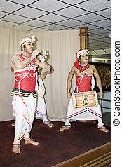 Sri Lankan Cultural Dance - Image of mannequins in ...