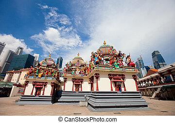 Sri Mariamman Temple in Singapore - Sri Mariamman the oldest...