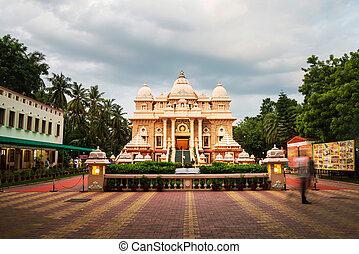 Sri Ramakrishna Math historical building in Chennai, Tamil...