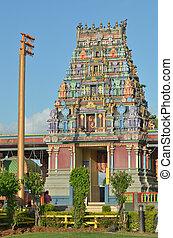 sri, siva, subramaniya, tempio indù, in, nadi, figi
