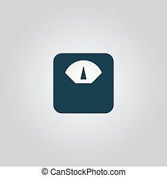 srouvnávaní, zařízení, ikona