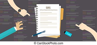 SRS Software Requirements Specification computer information...