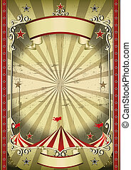 Srtange circus - A circus background for your dark show !