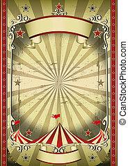srtange, cirkus
