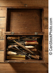 srtist, handcraft, herramientas, trabaja, mano
