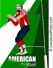SS-1608-american football poster.eps