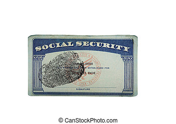 SS Card Print