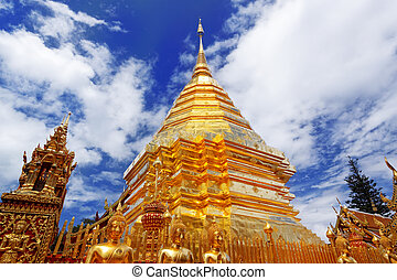 Ssangyong Temple in Thailand